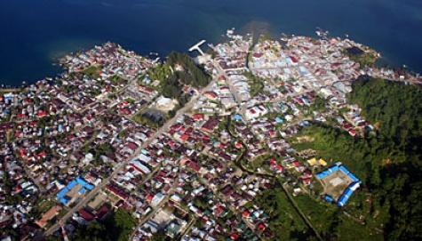 Sinabang, Kabupaten Simeulue, Aceh. ANTARA/Irsan Mulyadi